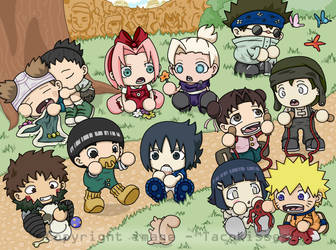 Naruto - Tots Two by tacokisses