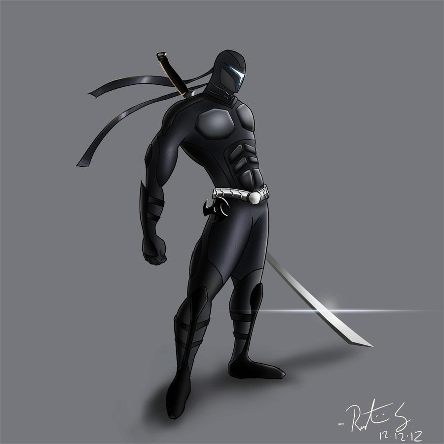 Futuristic Shinobi Ninja by SLMdesignFuturistic Ninja Armor