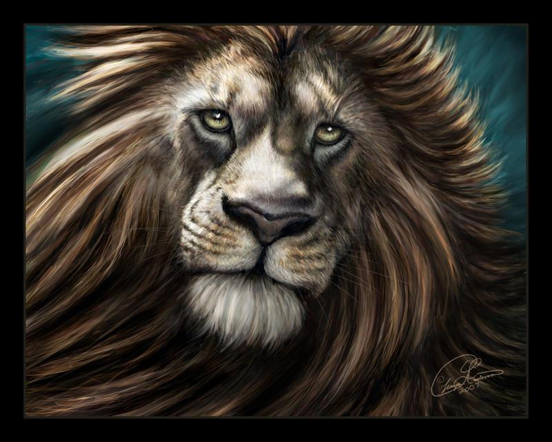 Aslan by ChayaA