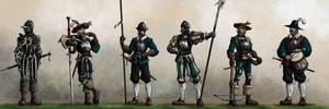 Gothic Imperium military