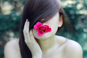 kiss from a rose by Megson