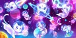 Space cats by Sera-chama