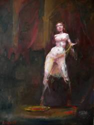 Salome's dance by Pika-la-Cynique