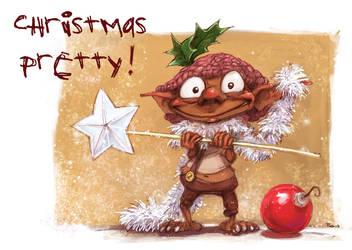 Goblin Christmas 03 by Pika-la-Cynique
