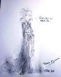 Trolling Goblin King scribble by Pika-la-Cynique