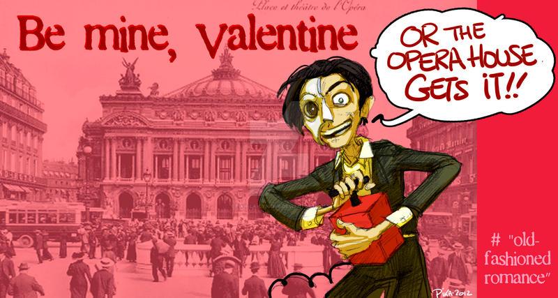 GND Valentine - Erik by Pika-la-Cynique