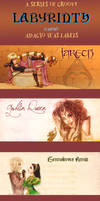 Labyrinth fanon ADAGIO TEAS labels, commission