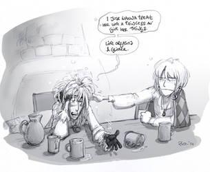 GND Flashback - Drunken bird-wizards by Pika-la-Cynique