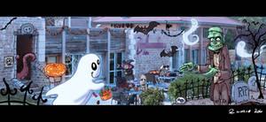 Halloween workjobpiece