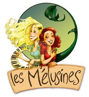 Les Melusines - visual ID