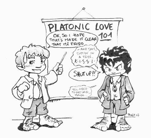 how to tell if a relationship is platonic