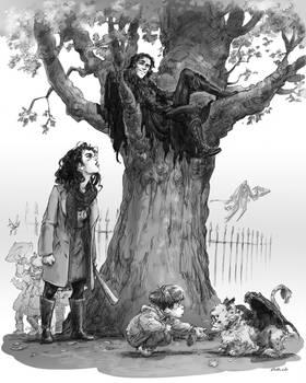 BETWEEN - An irritating sorcerer in a tree