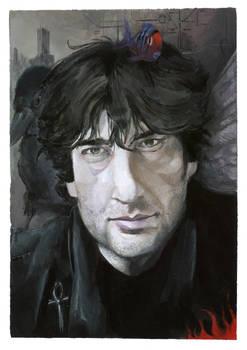 Neil Gaiman portrait