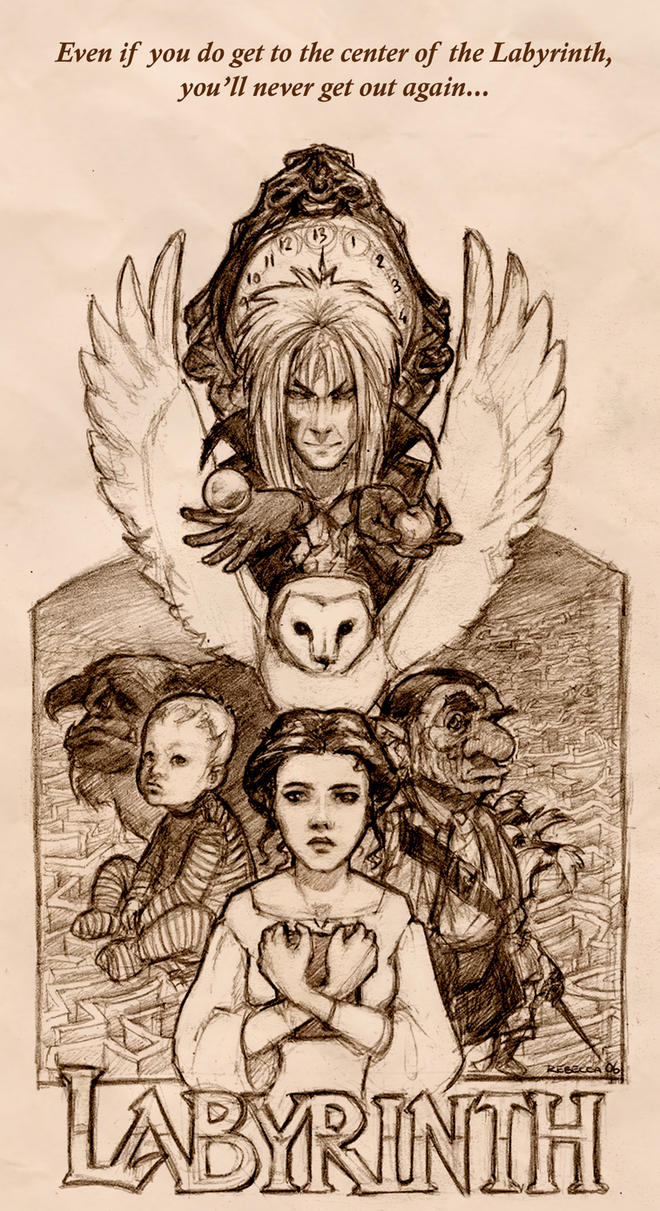 LABYRINTH composition by Pika-la-Cynique on DeviantArt Labyrinth 1986 Characters