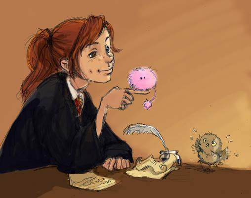 Ginny jealousy