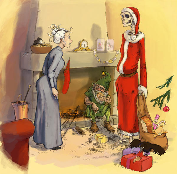 Susan and the... Hogfather?...