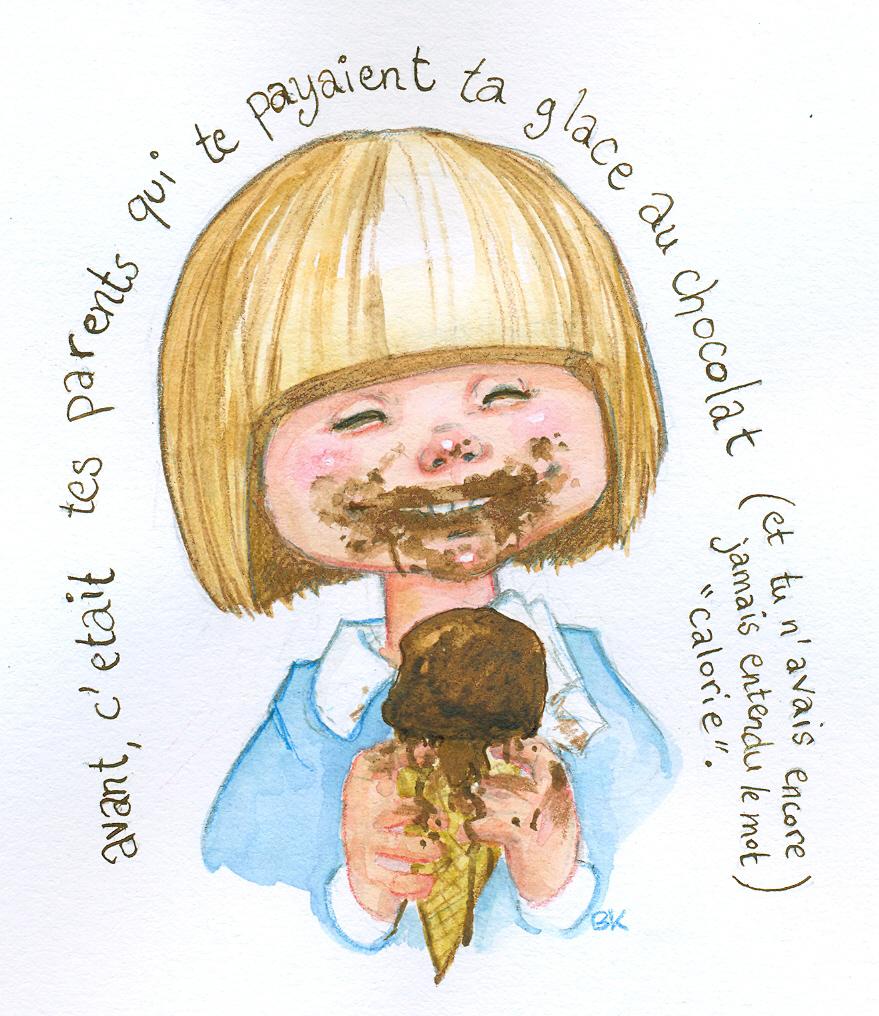 chocolate icecream by Pika-la-Cynique