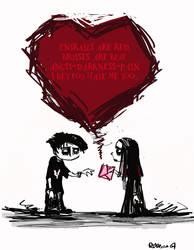 OMFGEmo Valentine by Pika-la-Cynique