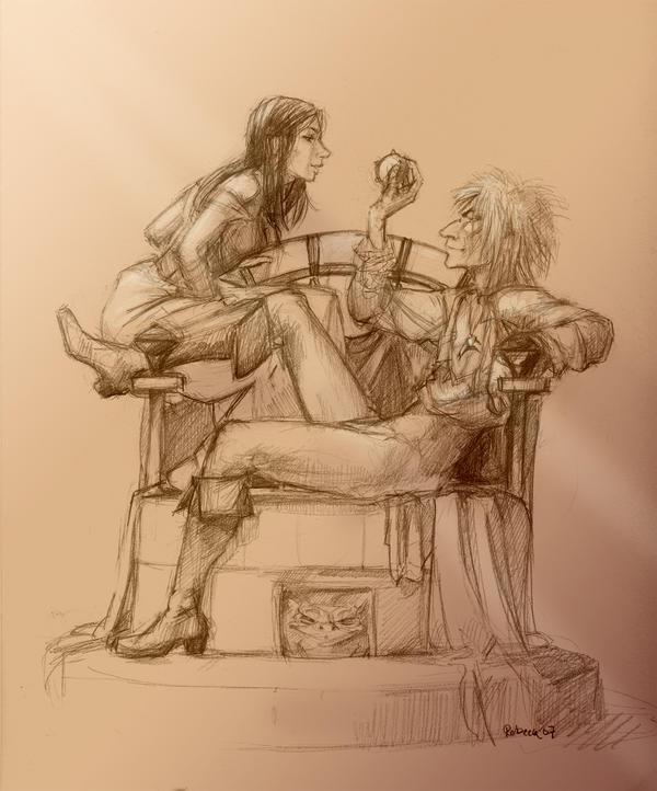 peach scene-pencilled by Pika-la-Cynique