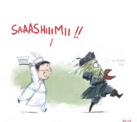 Heroes+POTC - Sashimi by Pika-la-Cynique