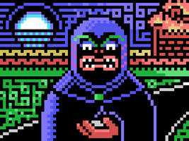 Greed [MSX, Screen 3]