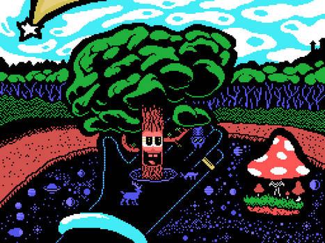 Tree [MSX, Screen 2]