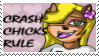 crash chick stamp by HCoyote
