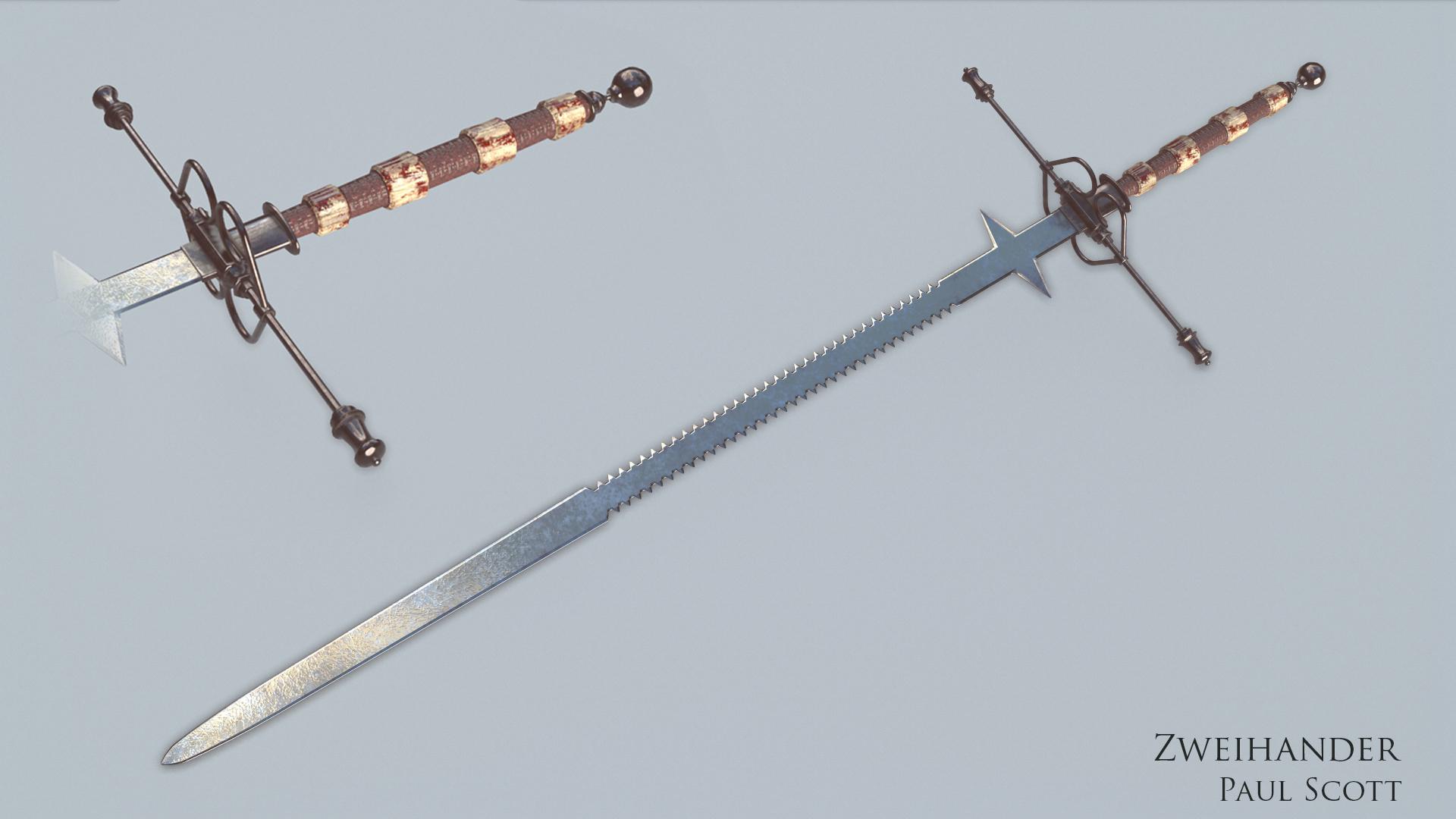 Zweihander Sword Zweihander! by pasco29...