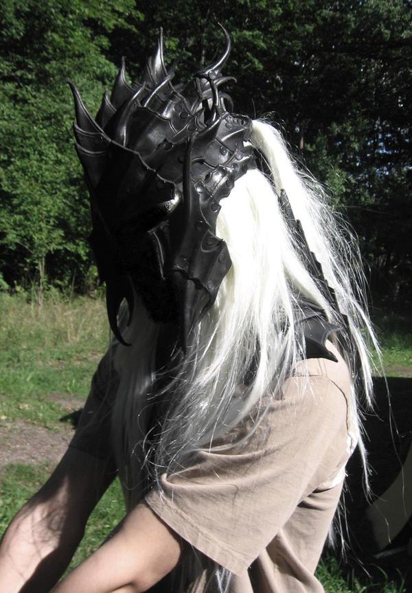 drow heavy helmet by Sharpener