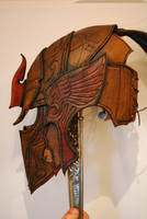 Elven helmet side by Sharpener