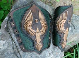Bird Bracers by Sharpener