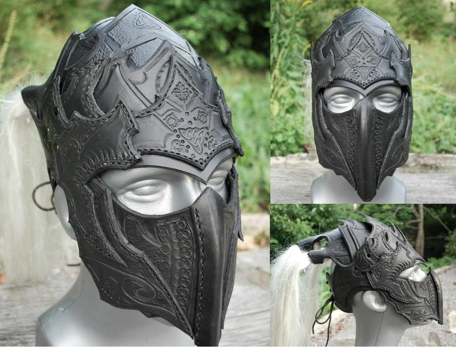 Drow Helmet comm by Sharpener