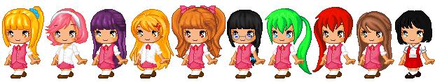 Misao Girls by XxMikanxChanxX