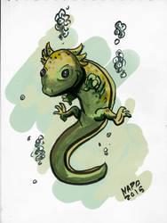 Axolotl by Napo-4V