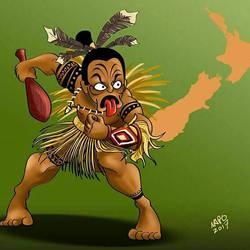 Maori Warrior by Napo-4V