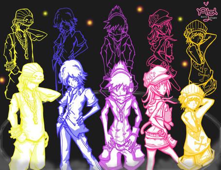 TWEWY Group: Neon