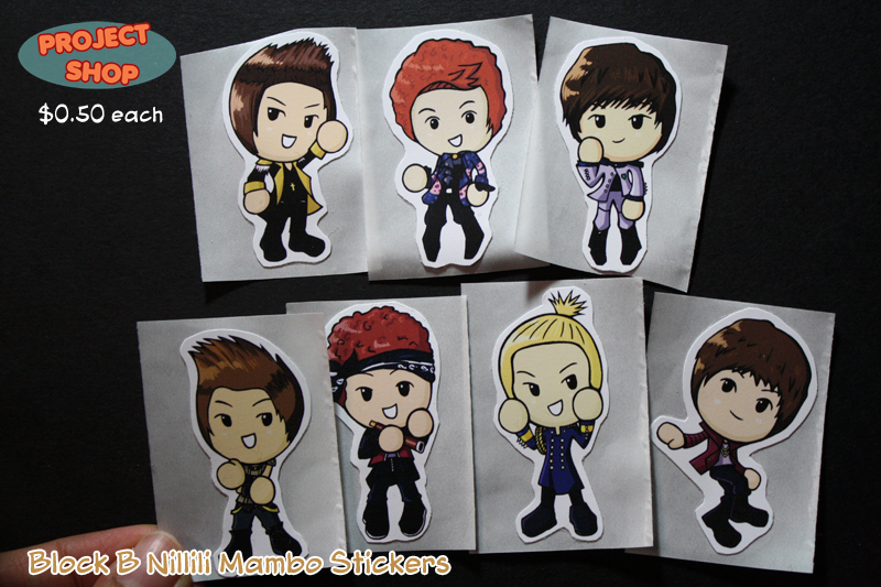 Block B Nillili Mambo Stickers by Saiya-STORY on DeviantArt  Block B Nillili...