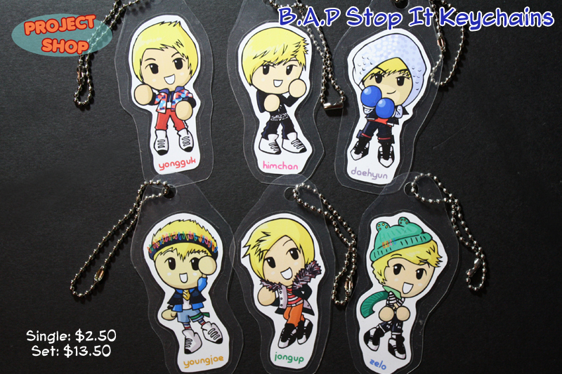 BAP Stop It Keychains ...