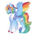 Captain Rainbow Dash