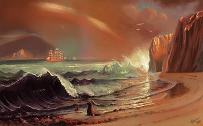 Master Study 1- Albert Bierstadt by Gyzra