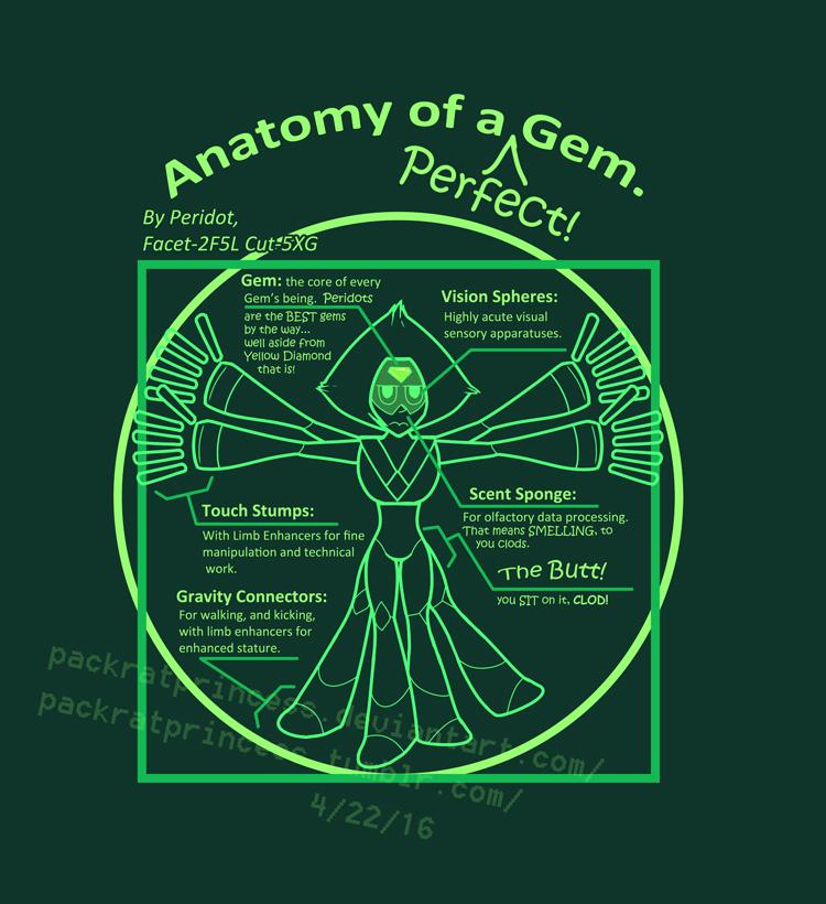 Anatomy Of A Gem By Packratprincess On Deviantart