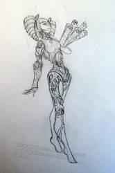 The Clockwork Dame by PackRatPrincess