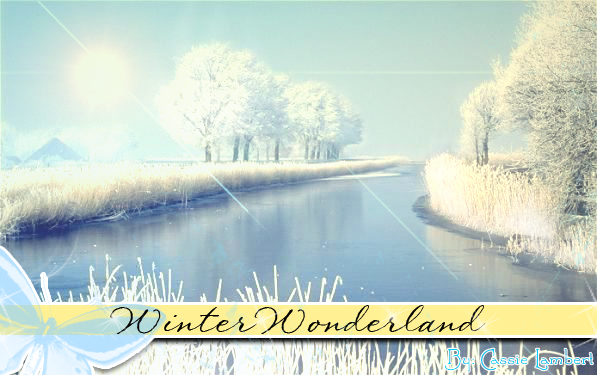 Winter Wonderland by xCassiex24