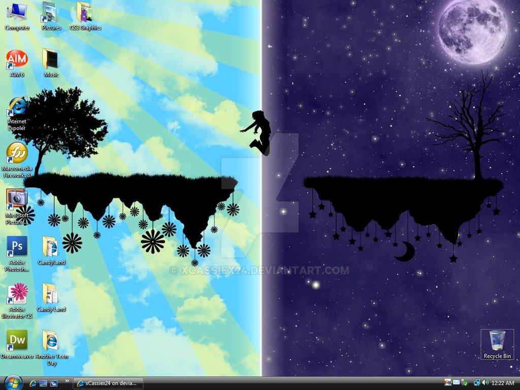 Desktop Screenshot 6-6-08 by xCassiex24