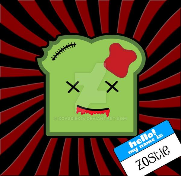 Zoastie The Zombie Toast by xCassiex24