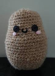 a potato by Sorrelclaww