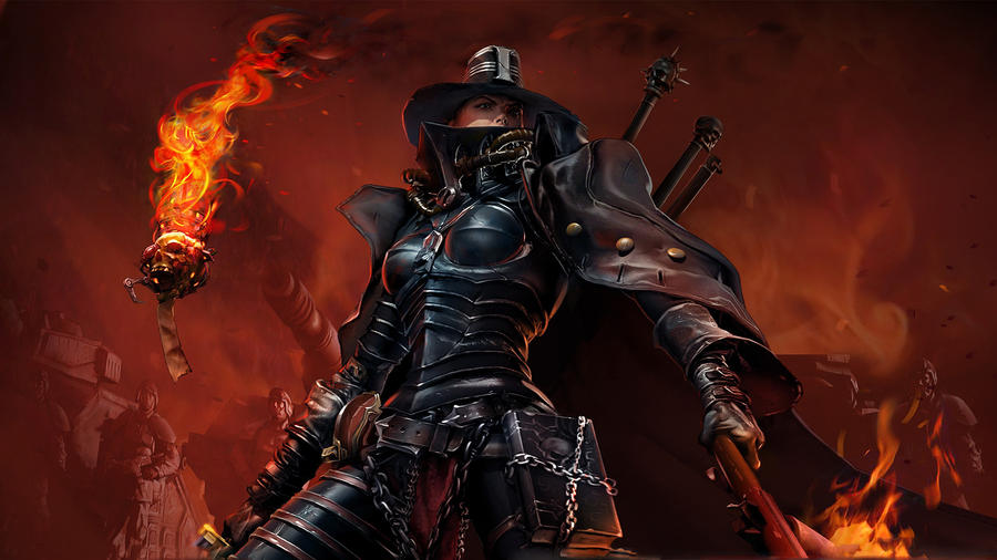 female Inquisitor by gaara-n-hinata09
