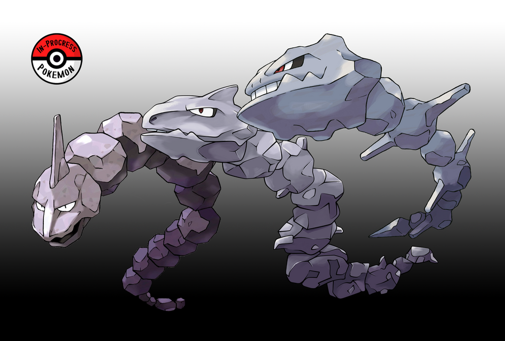 095 - 208 Onix Line by InProgressPokemon on DeviantArt
