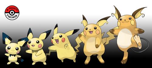 172 - 026 Pikachu Line (Redo) by InProgressPokemon