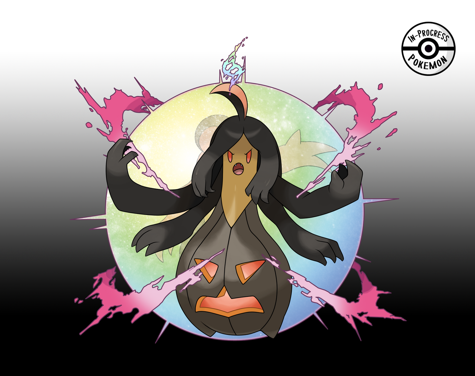 Fake Mega Gourgeist by InProgressPokemon on DeviantArt